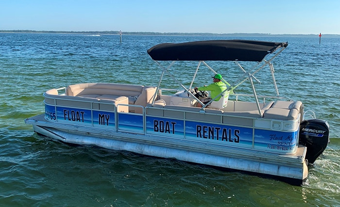 Pensacola Beach Boat Rentals & Pontoon Boat Rentals in Pensacola FL